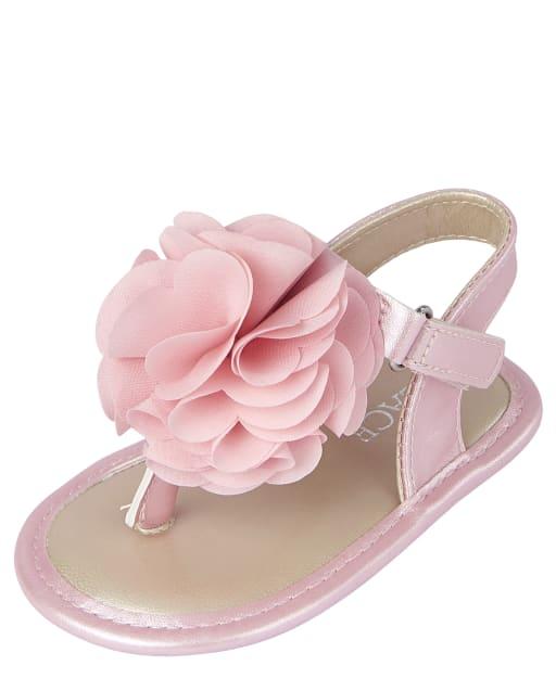 Baby Girls Flower Sandals