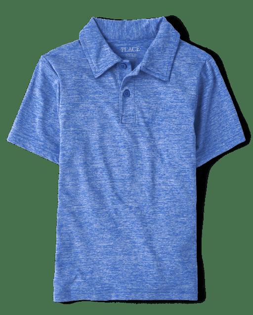 Boys Uniform Short Sleeve Performance Polo