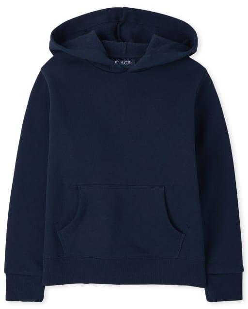 Girls Uniform Active Long Sleeve Fleece Hoodie