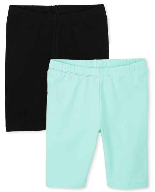 Pack de 2 pantalones cortos de ciclismo para niñas