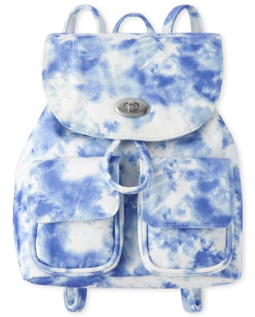 Mini mochila con efecto tie dye para niñas