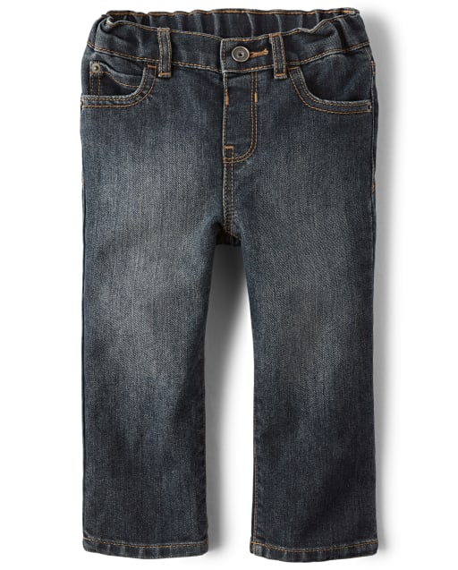 Baby And Toddler Boys Stretch Straight Jeans