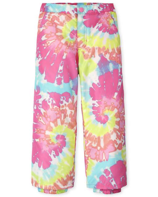 Girls Woven Snow Pants