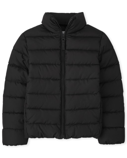 Girls Long Sleeve Puffer Jacket