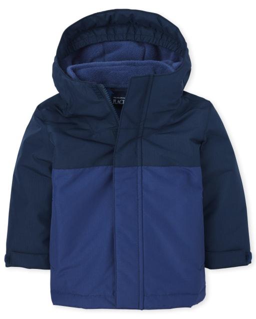 Toddler Boys Long Sleeve Colorblock 3 In 1 Jacket