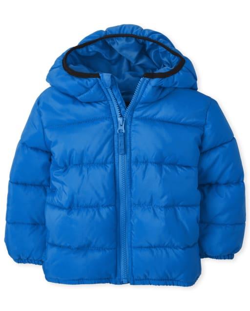 Toddler Boys Long Sleeve Puffer Jacket