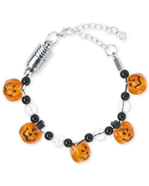 Girls Halloween Light Up Bracelet