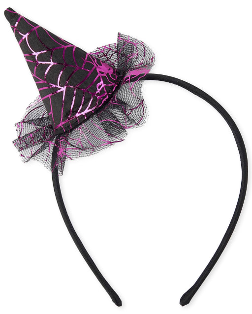 Girls Halloween Witch Headband