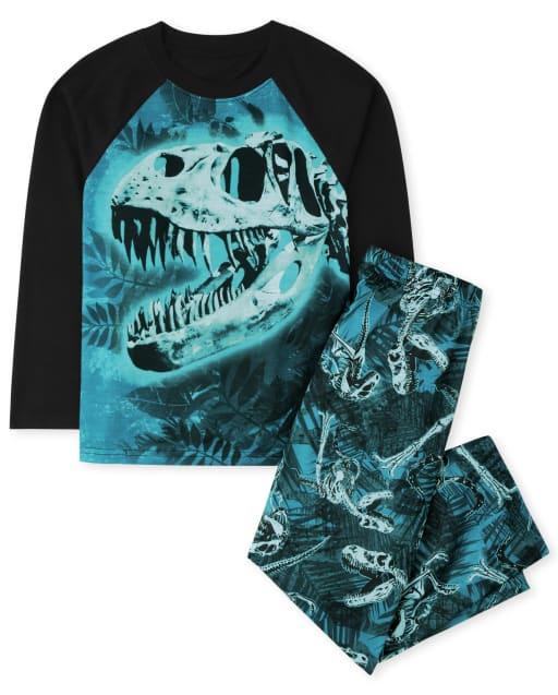 Pijamas de dinosaurio para niños