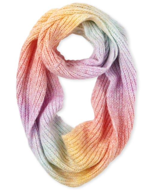 Girls Ombre Infinity Scarf