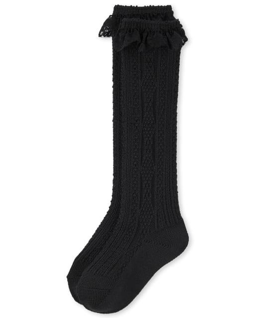 Calcetines de bota de encaje para niñas