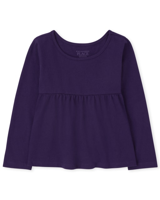Baby And Toddler Girls Long Sleeve Top