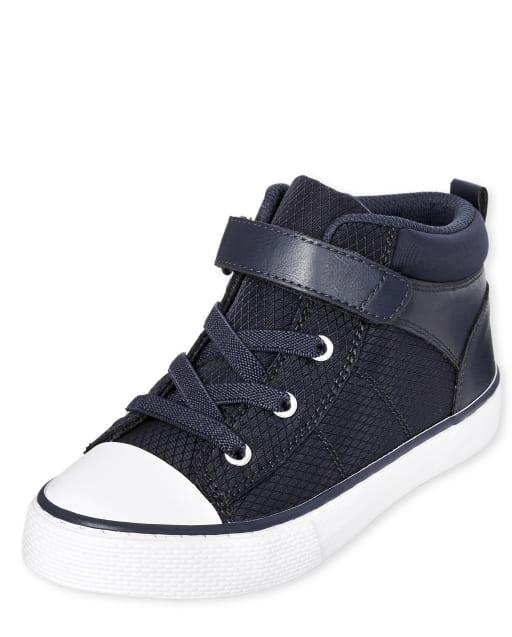 Boys Mid Top Sneakers