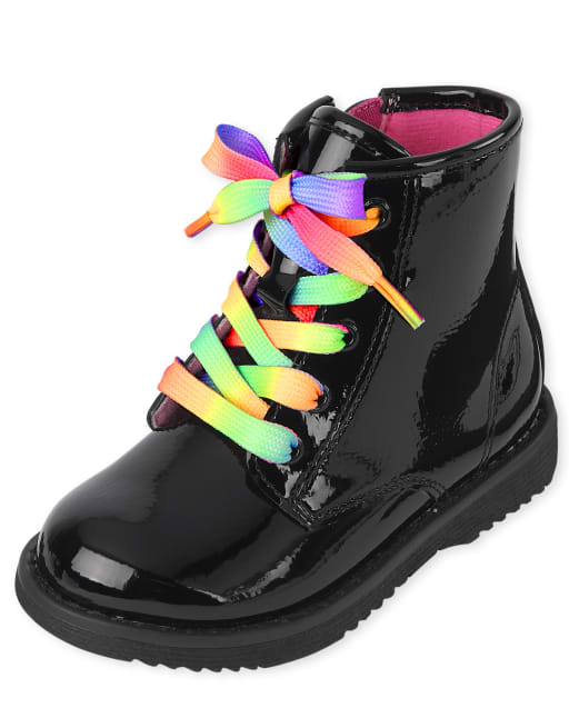Toddler Girls Lace Up Booties