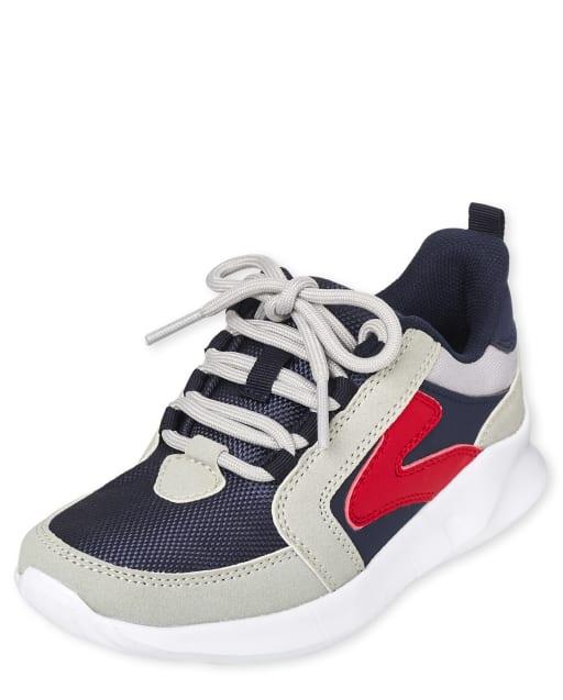 Boys Colorblock Running Sneakers