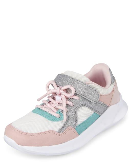 Girls Colorblock Running Sneakers