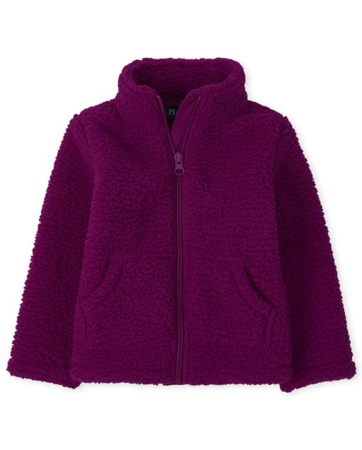 Toddler Girls Long Sleeve Furry Favorite Jacket