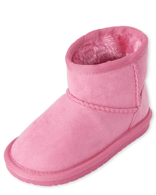 Toddler Girls Low Faux Suede Booties