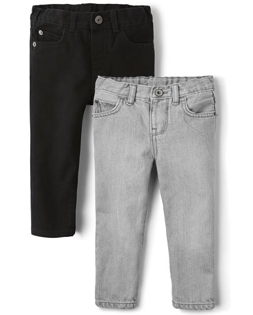 Cintura EZ-fit sin cordones: cierre a presión, bragueta sin cremallera, espalda elástica y lengüetas interiores ajustables en la cintura