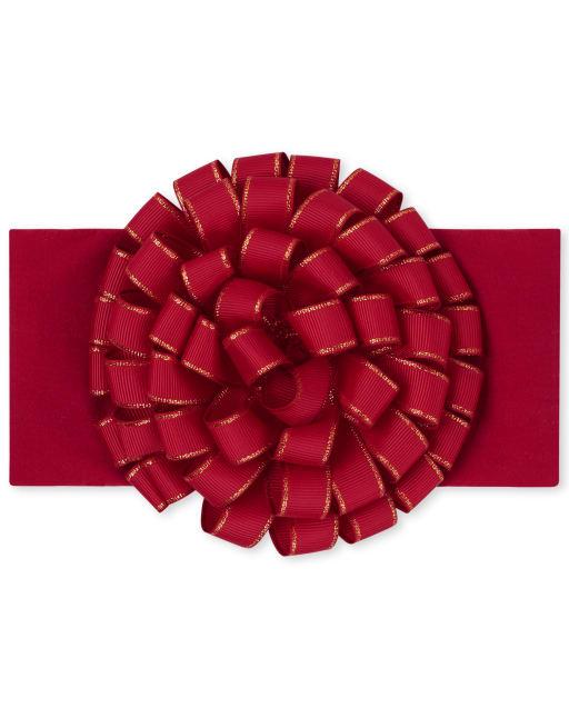 Baby Girls Christmas Bow Headwrap