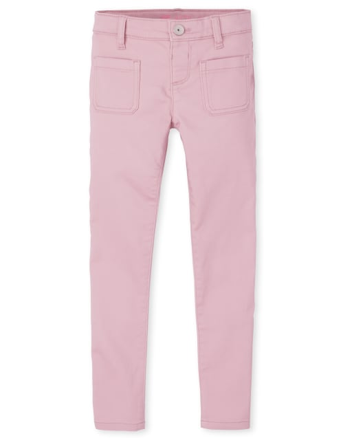 Girls Stretch Knit Denim Legging Jeans