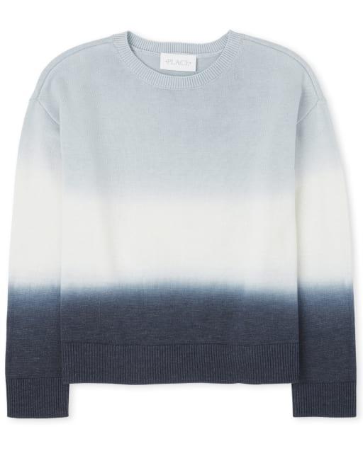 Suéter Ombre de manga larga para niñas