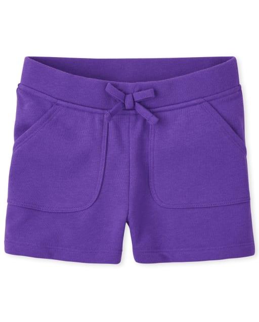 Shorts de felpa francesa para niñas
