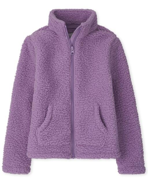 Girls Long Sleeve Furry Favorite Jacket