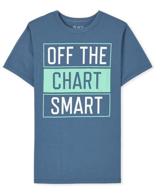 Boys Short Sleeve Smart Graphic Tee