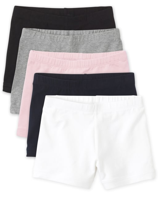 Pack de 5 pantalones cortos de punto Cartwheel para niñas
