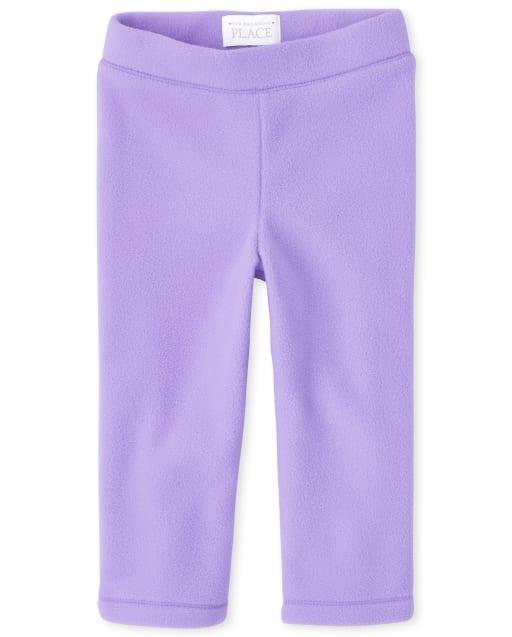 Toddler Girls Microfleece Pants