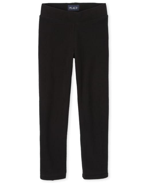 Pantalones de microfibra para niñas