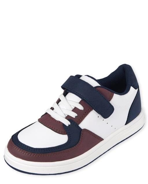 Boys Colorblock Low Top Sneakers