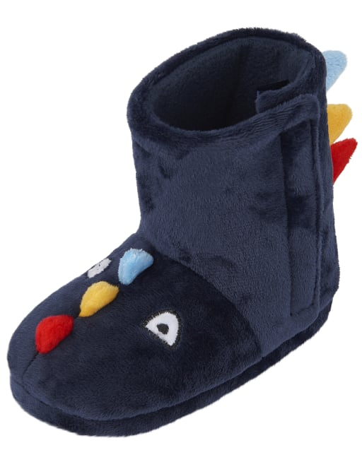 Toddler Boys Dino Bootie Slippers
