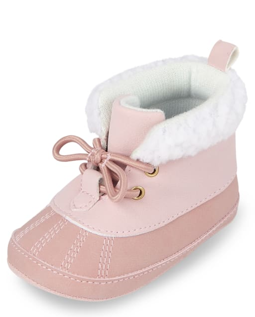 Baby Girls Lace Up Boots
