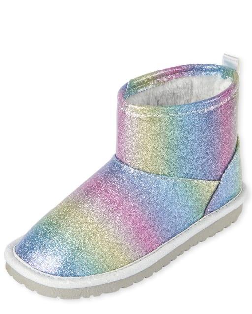 Girls Glitter Booties