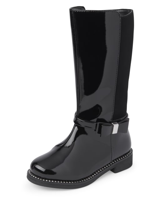 Toddler Girls Jeweled Tall Boots
