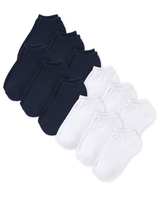 Pack de 12 calcetines tobilleros unisex para niños