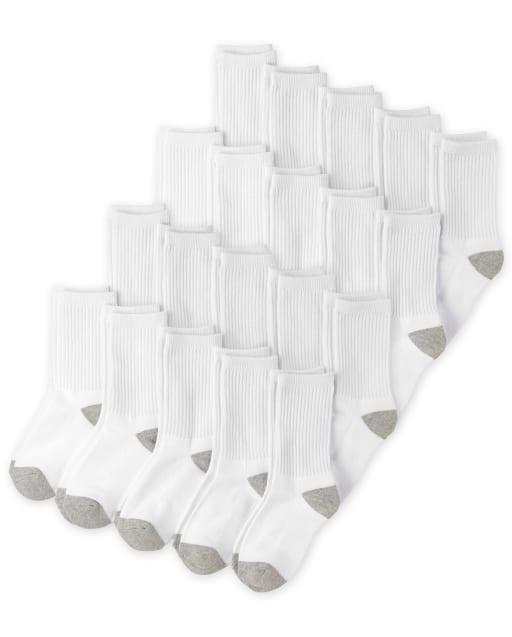 Pack de 20 pares de calcetines deportivos para niños