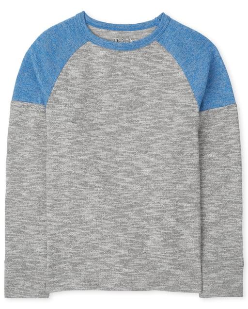 Boys Long Sleeve Raglan Thermal Top