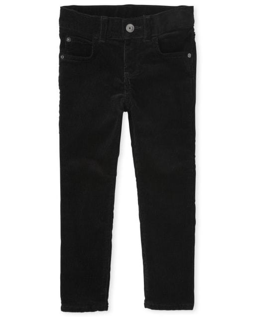 Boys Stretch Woven Corduroy Pants