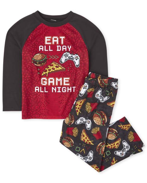 Pijamas de noche de juegos para niños