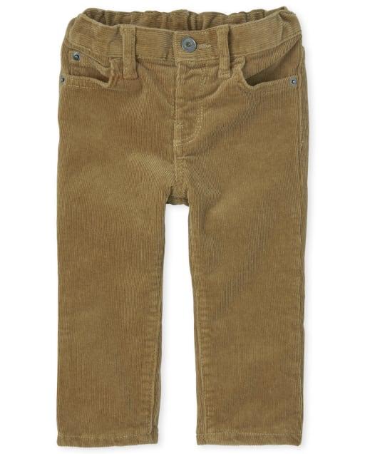 Toddler Boys Stretch Woven Corduroy Pants