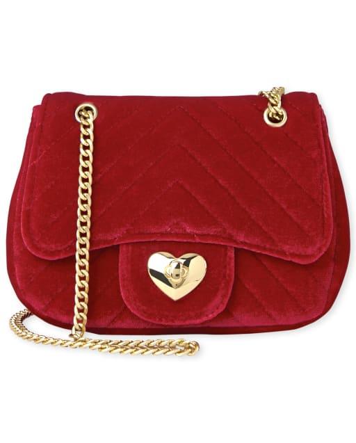 Girls Velvet Bag