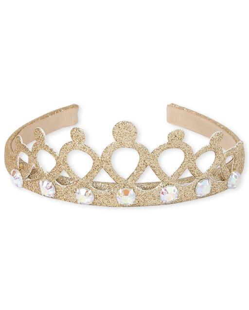 Toddler Girls Jeweled Tiara Headband