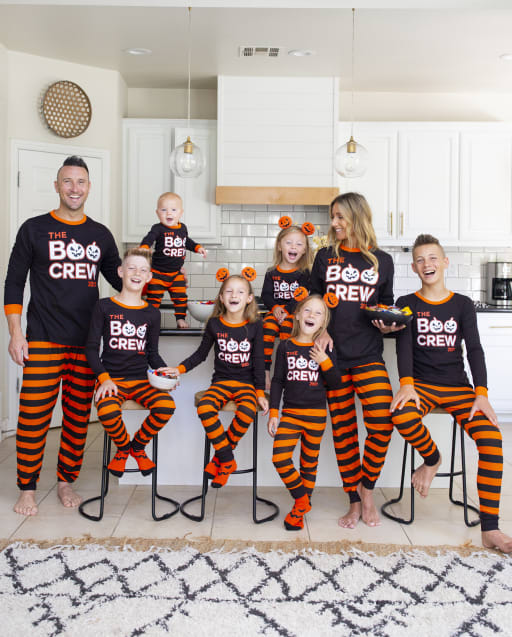 Matching Family Pajamas - Glow Boo Crew Collection