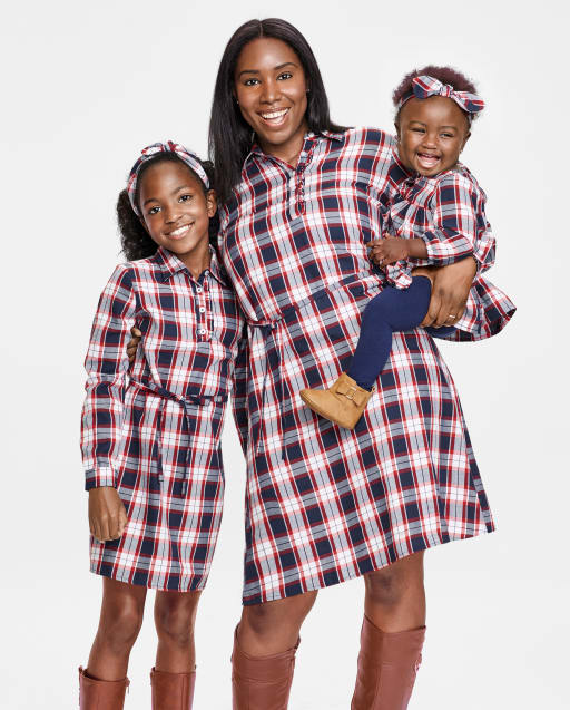 Matching Family Dress Up - Plaid Flannel Collection