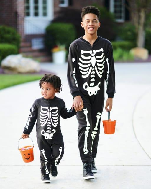 Matching Family Pajamas - Glow Skeleton Collection
