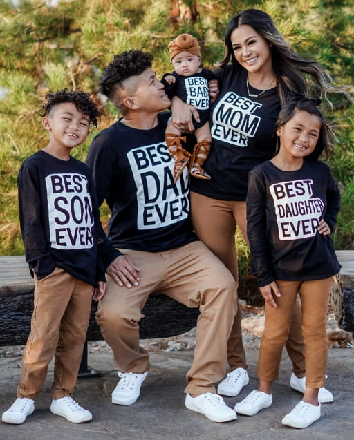 Matching Family Graphic Tees - Best Ever Collection