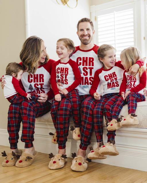 Matching Family Pajamas - Christmas Tartan Collection